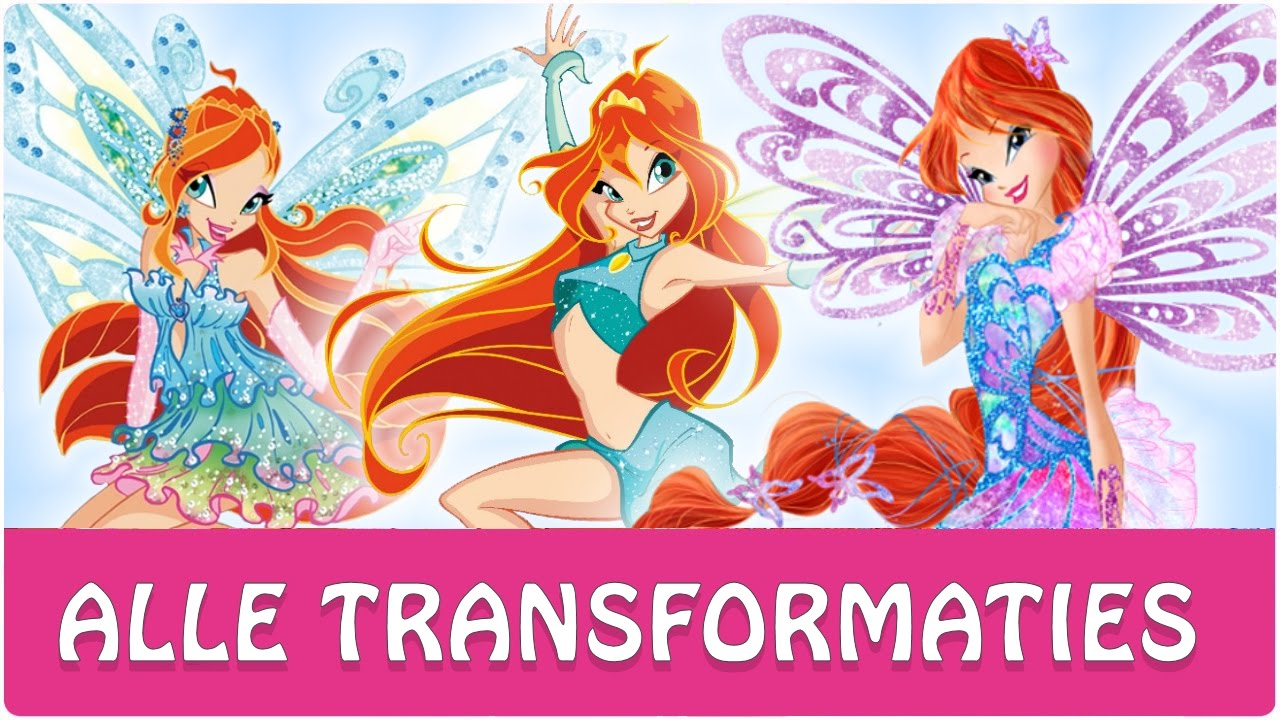 Winx Club Kleurplaten Seizoen 4.Winx Club Alle Volledige Transformaties Van Bloom Youtube