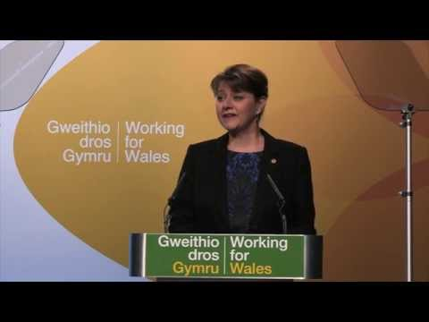 Leanne Wood Speech in Plaid Cymru's 2015 Spring Conference