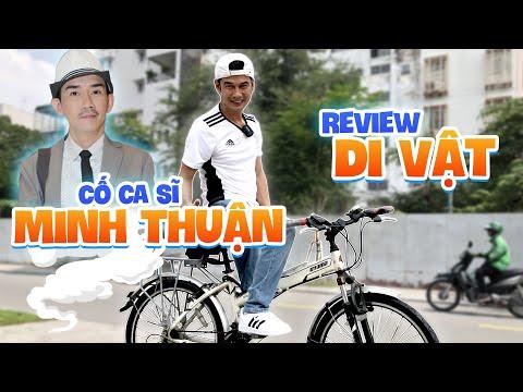 Nghệ Sĩ Tiết Cương review chiếc xe đạp đặc biệt di vật của cố ca sĩ Minh Thuận tặng cho anh