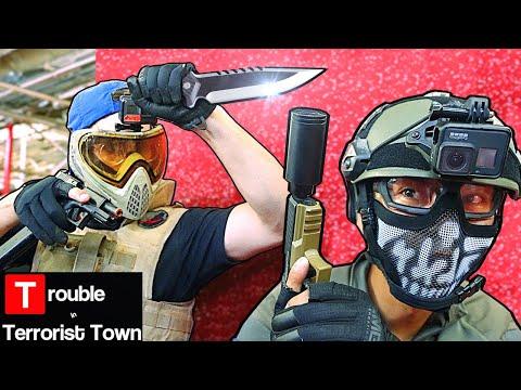 AIRSOFT TTT - Bringing a KNIFE to a GUN Fight!