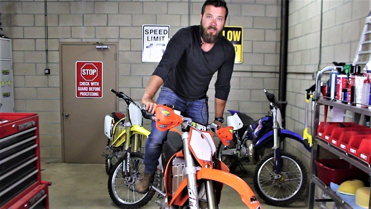 How to kick start 2 stroke dirt bike - Beginners guide