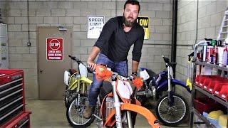 How to kick start 2 stroke dirt bike - Beginners guide.