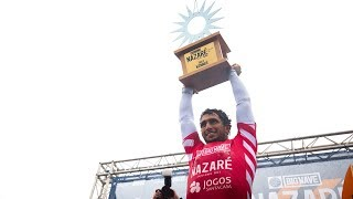 Nazaré Challenge Highlights - Lucas Chianca Wins in Portugal