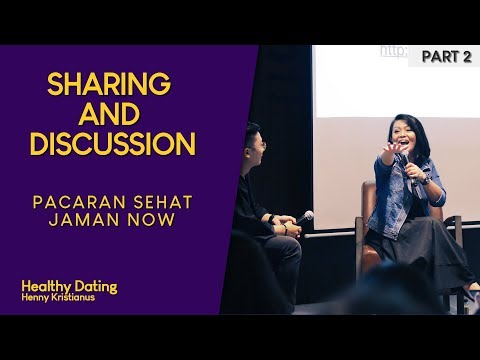 Healthy Dating Discussion - Henny Kristianus At Living Community