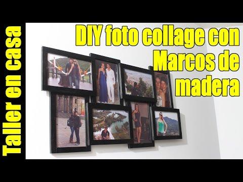Como hacer collage con marcos de fotos facíl