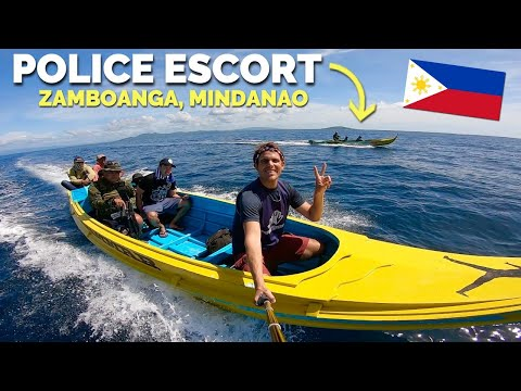 FILIPINO POLICE Take FOREIGNERS Travelling In Zamboanga, Mindanao!