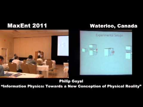Information Physics: Towards a New Conception of Physical Reality