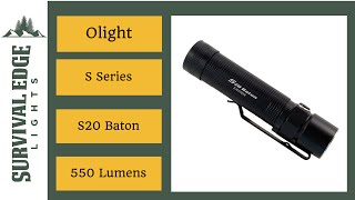 Olight S20-L2 Baton Review - Survival Edge Lights