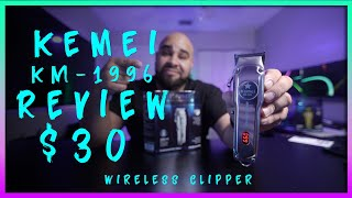 kemei 1996  Wireless Clipper  Wahl 1919  Review