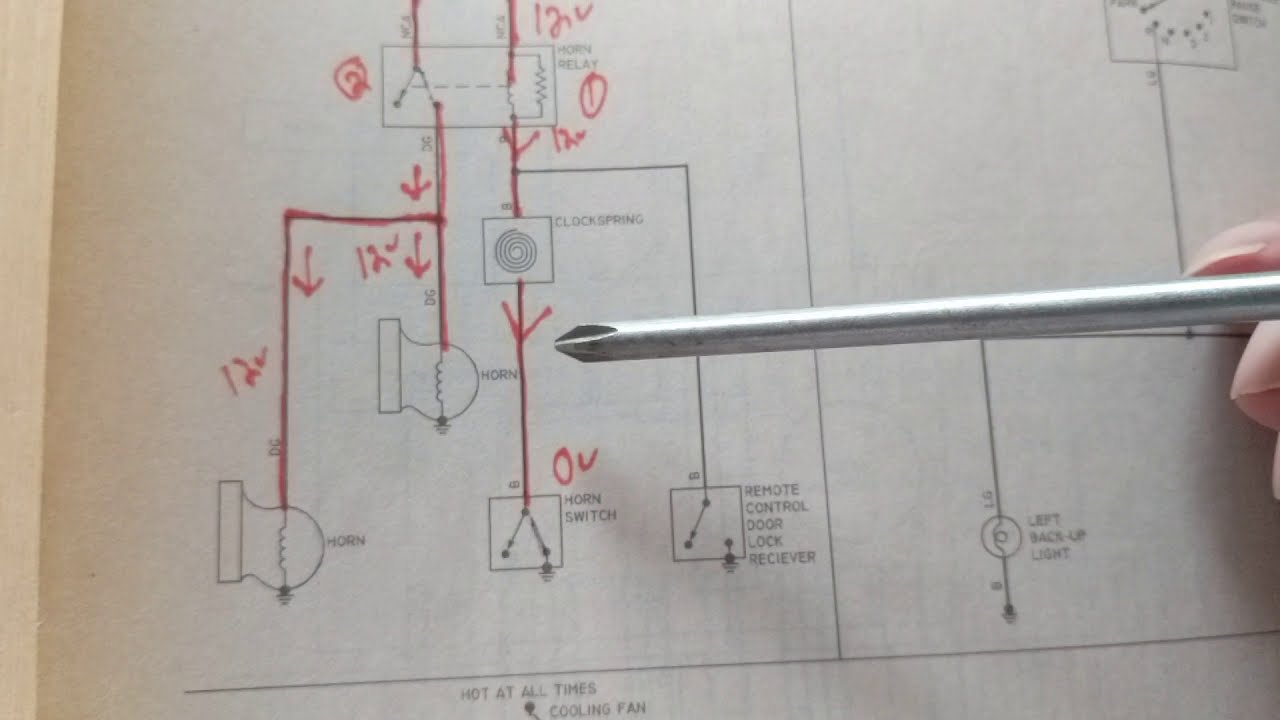 how does a horn circuit work chevy malibu 3 1 l wiring diagram andhow does a [ 1280 x 720 Pixel ]