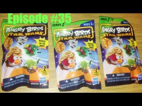 Blind Bag Mystery 035 Angry Birds Star Wars Mini Figures Series 2
