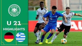 Victory for Germany's Under 21's | Germany vs. Greece 2-0 | Highlights | U21 Friendly