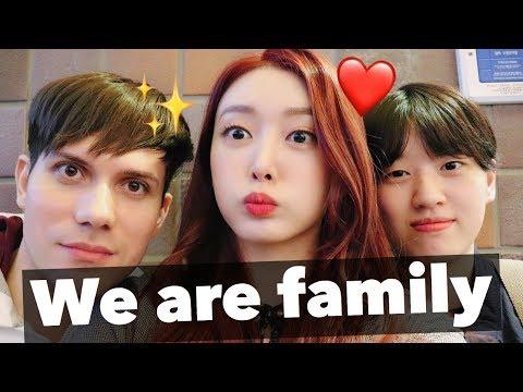 My Brazilian Boyfriend and my Korean Sister finally MET 😁