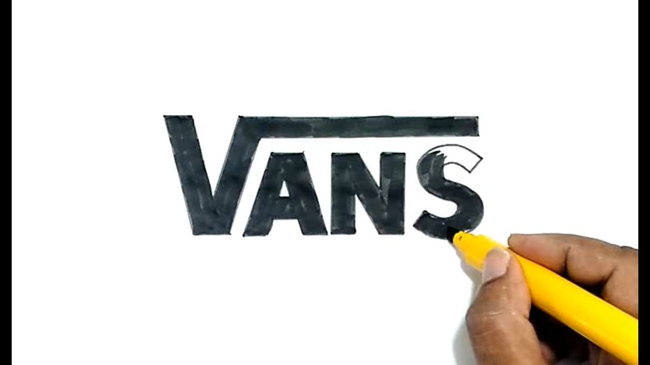 How to draw the vans logo youtube for Draw my logo
