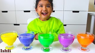 Ishfi Learn color with colorful water