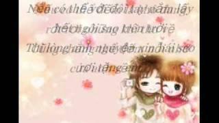 Don Gian La Anh Yeu Em- Tan Khanh with Lyrics