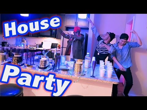 New Year's Eve House Party Vlog