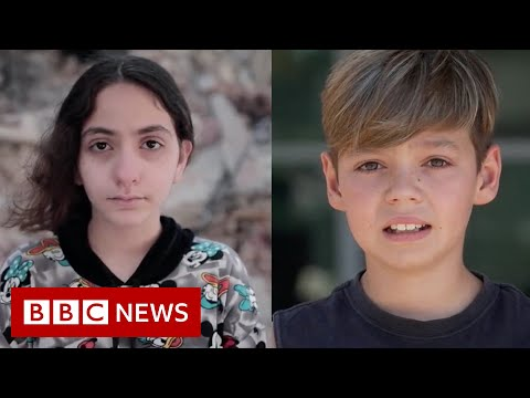 How children in both Israel and Gaza experienced the conflict - BBC News
