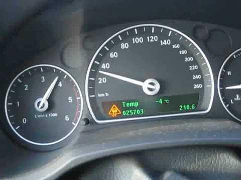 Saab 9 3 TTiD Aero Acceleration 0 100