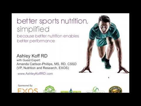 What to eat / take for better sports performance