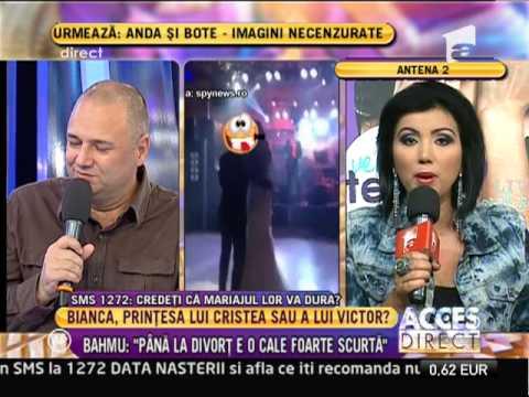 """Adriana Bahmuteanu: """"Pana la divort este o cale foarte scurta"""""""