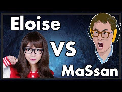 Hearthstone - Eloise vs MaSsan BO5 Part 1
