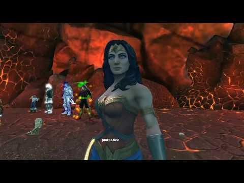 DCUO Into The Dark Multiverse Elite Forge Hawkman |