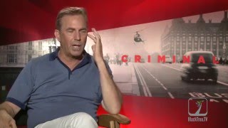 Kevin Costner on getting into character for CRIMINAL