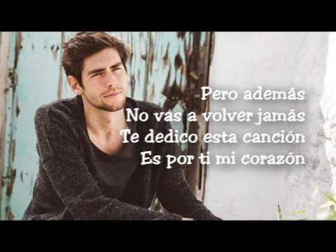 Alvaro Soler - Mi Corazon LYRICS/LETRA