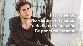 Alvaro Soler  Mi Corazon LYRICSLETRA