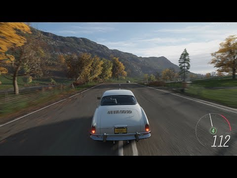 Forza Horizon 4 - 1967 Volkswagen Karmann Ghia Gameplay [4K]