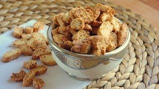Mini Fekkas : Petits Croquants à L'anis Et Sésame / Anise And Sesame Moroccan Cookies