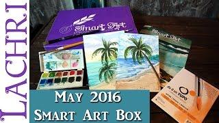 May Smart Art Box - watercolor seascape - w/ Lachri