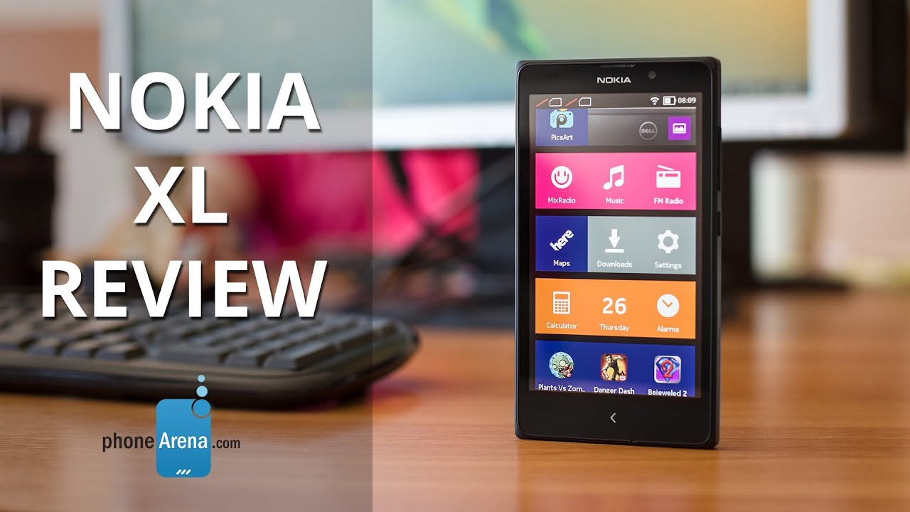Nokia xl review youtube nokia xl review reheart Images