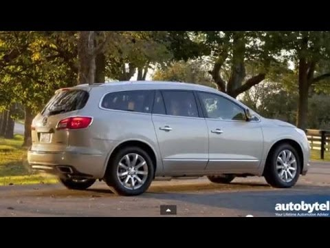 2014 Buick Enclave Test Drive Video Review - 3 Row Luxury ...