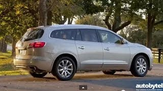 2014 Buick Enclave Test Drive Video Review - 3 Row Luxury SUV