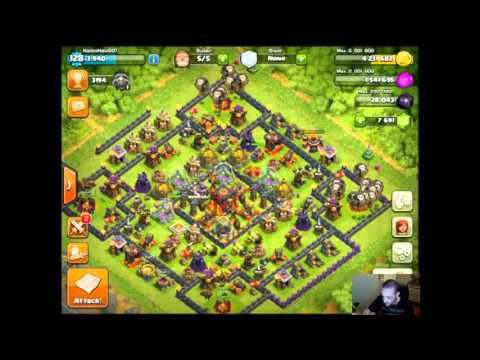 Clash of Clans - WAR! FARMING! BROKE MY HEART RECORD for the FIRST time! 107k HEARTS!