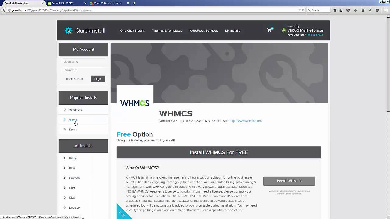 How to Install WHMCS | HostGator Support