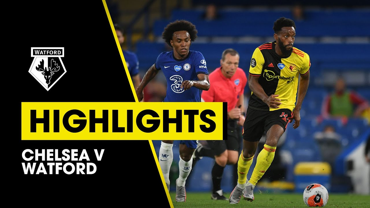 Download CHELSEA 3-0 WATFORD EXTENDED HIGHLIGHTS | THE BLUES TAKE ALL THREE POINTS AT THE BRIDGE