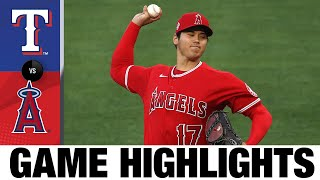 Rangers vs. Angels Game Highlights (4/20/21) | MLB Highlights