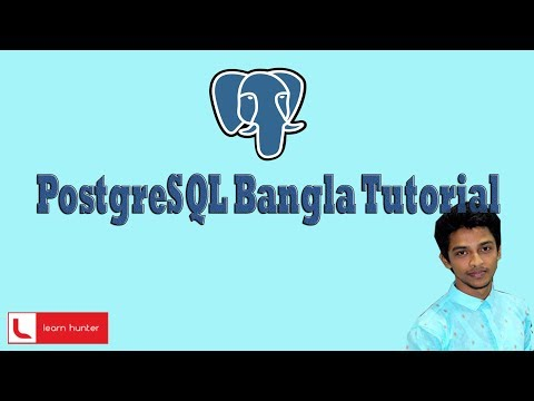 postgresql bangla tutorial 4(insert data into table)