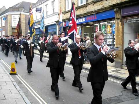 Sherborne Town Band - Remembrance Parade 2010