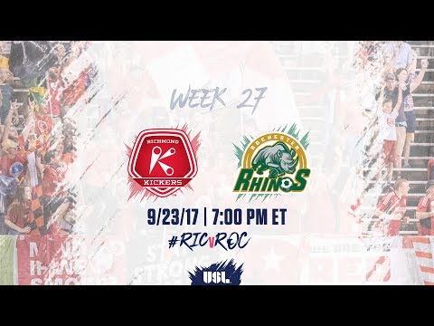 USL LIVE - Richmond Kickers vs Rochester Rhinos 9/23/17