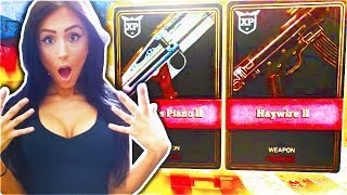 GIRLFRIEND OPENS LUCKIEST SUPPLY DROPS EVER! - NEW WEAPONS SUPPLY DROP OPENING! (Call Of Duty WW2)