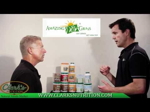 Amazing Grass Presented By Clark's Nutrition.