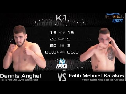 Fatih Mehmet KARAKUŞ vs Dennis Anghel İfsa 86 Kg   | www.fetihsporakademisi.com