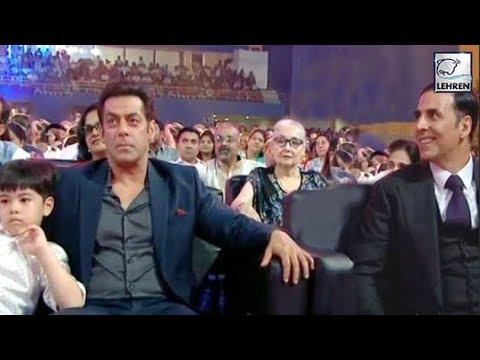 Salman Khan AVOIDS Akshay Kumar At IFFI 2017 Closing Ceremony  LehrenTV