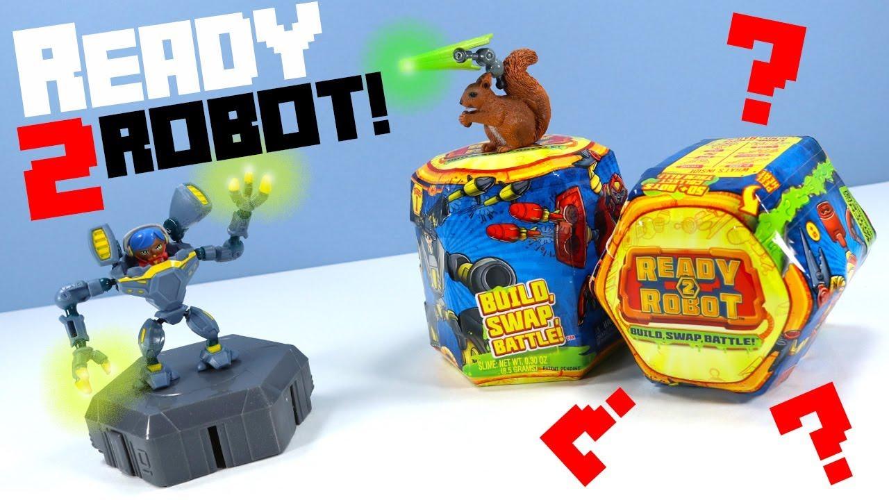 MGA Ready 2 Robot Build Swap Battle Singles Serie 1 Roboter