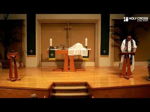 October 18 2015 8am Traditional Service