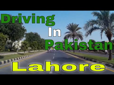 Driving In Pakistan 3 - Lahore  (23rd September 2014)